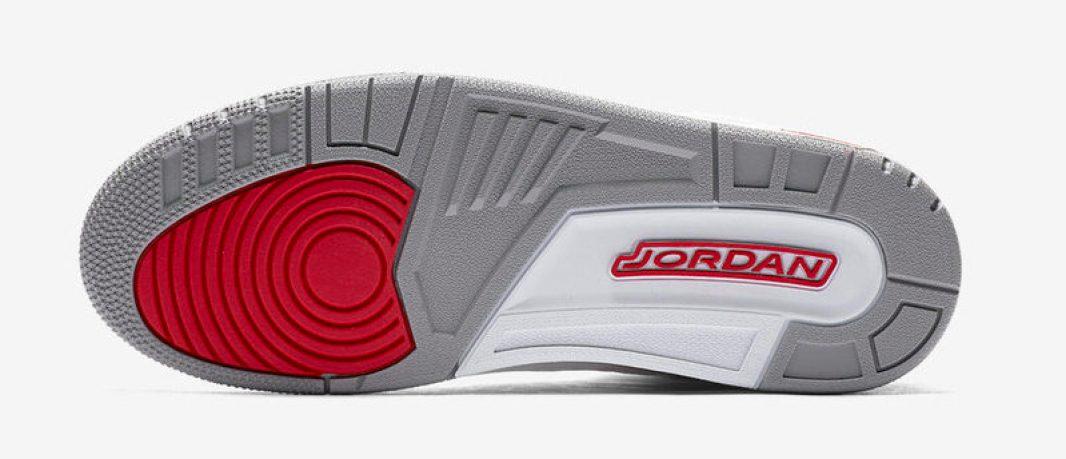 Air Jordan 3 White Red 2018 Release Date  80f2daf6b