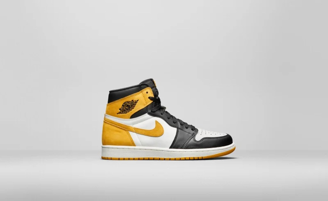 "Air Jordan 1 ""Yellow Orche"""