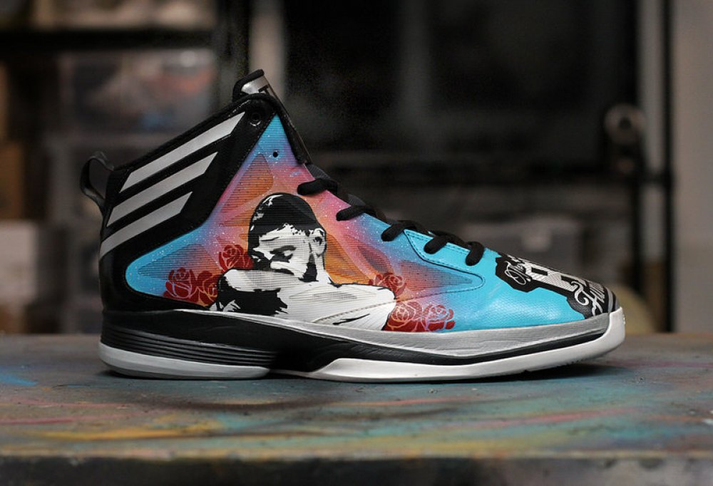47bd9df2ba4 Tim Duncan s Game-Worn Shoes Customized for Charity Auction