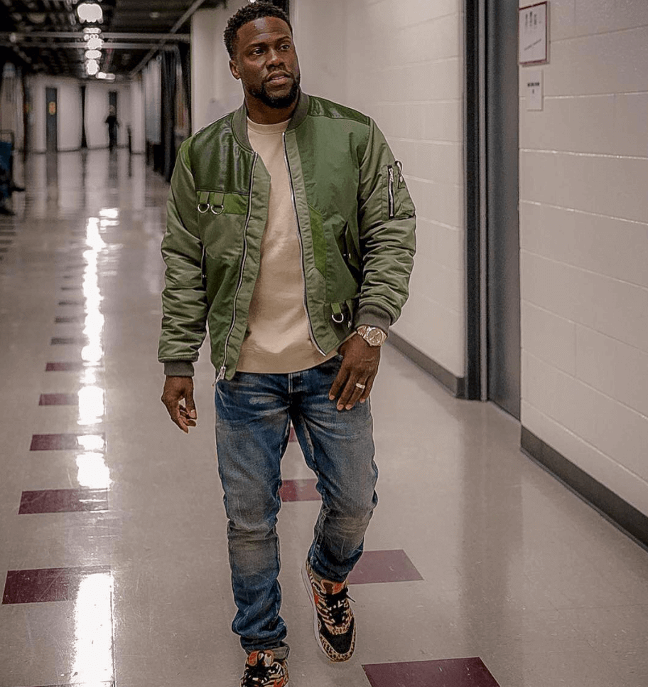 new products cec6d d21d5 ... Kevin Hart in the Atmos x Nike Air Max 1