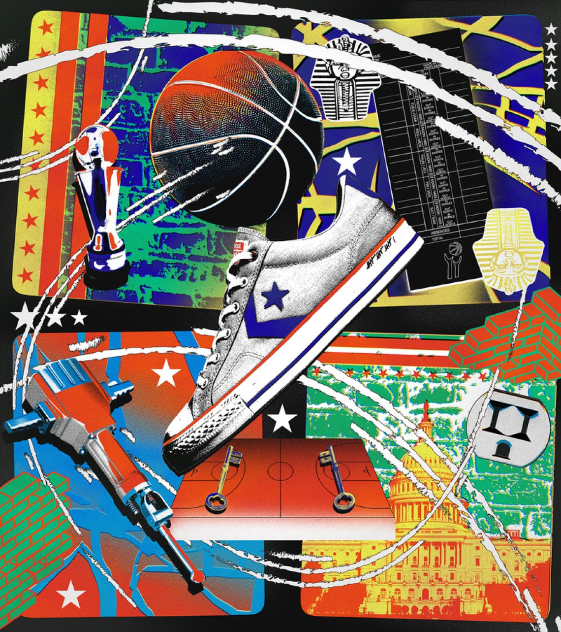 "Wes Unseld's Converse Star Player Ox ""Intangibles"""