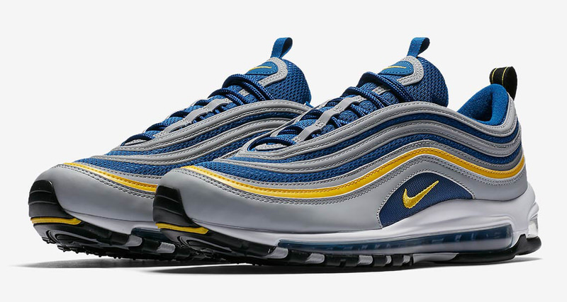 5bc96f28f373ce New Nike Air Max 97 Resembles Michigan Wolverines Colors