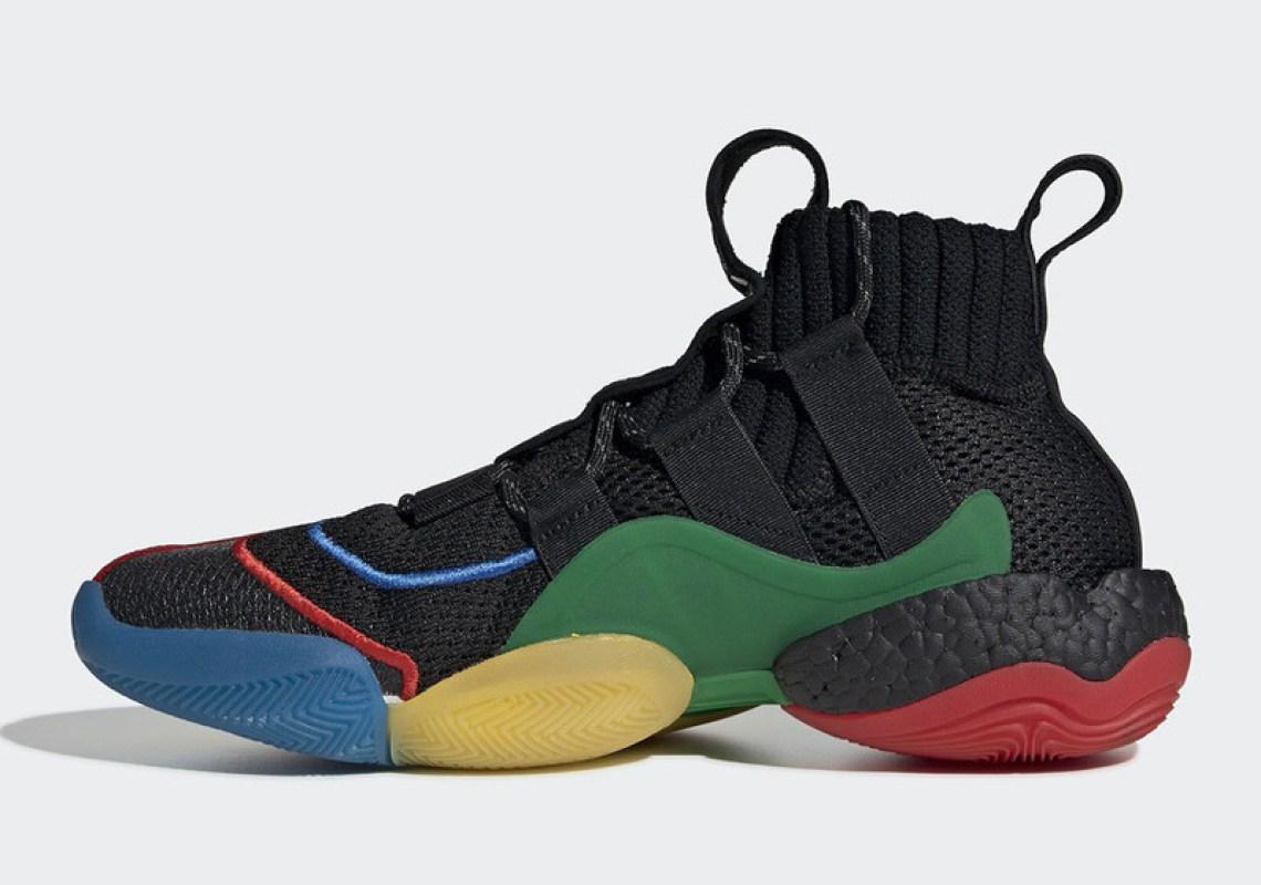 best sneakers 3c5cb fcf8a ... Pharrell x adidas Crazy BYW LVL X