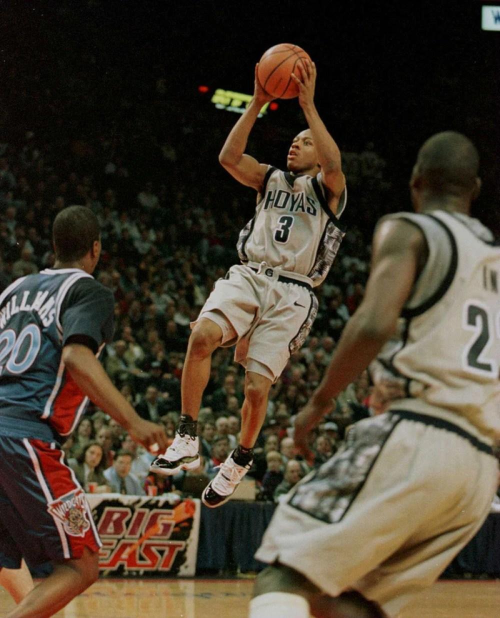 """Allen Iverson in Air Jordan 11 """"Concord"""""""