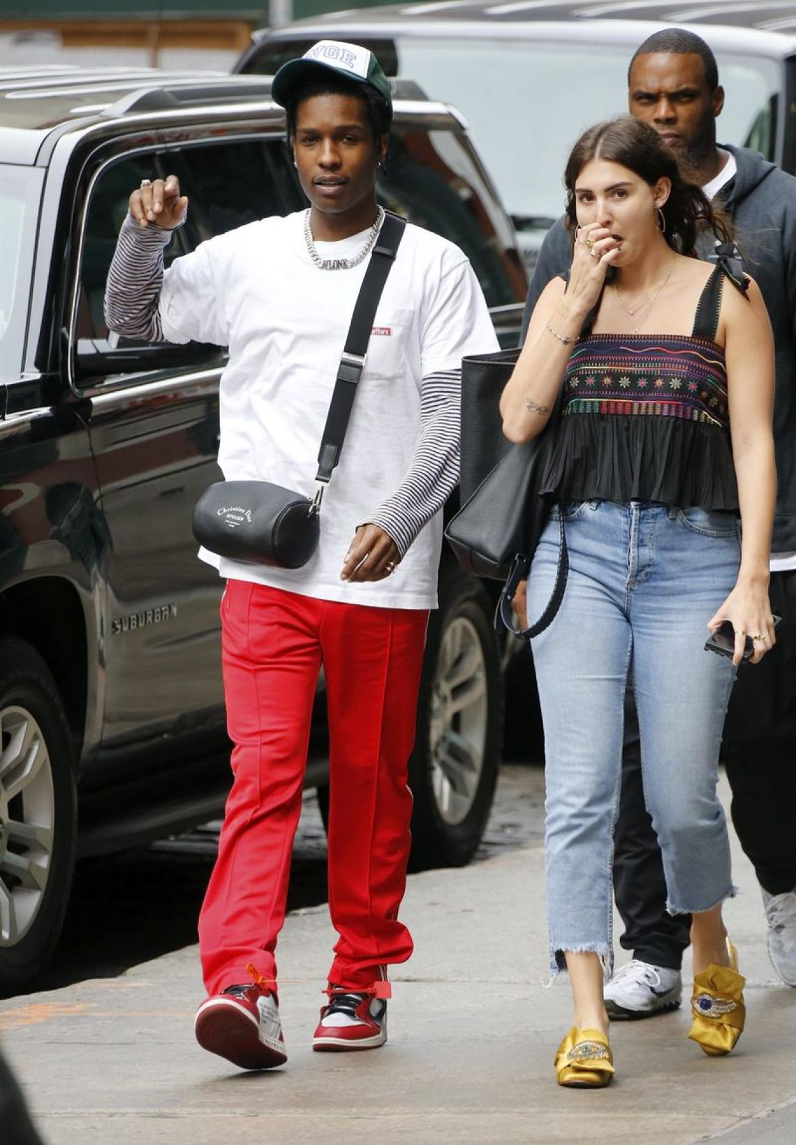What S In Their Wardrobe A Ap Rocky Nice Kicks