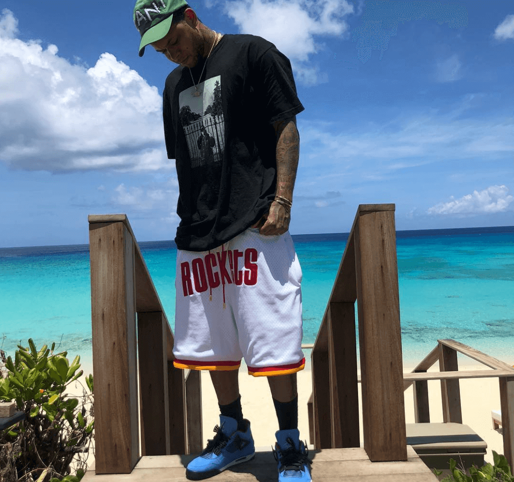 "OG Chase B in the Travis Scott x Air Jordan 4 ""Cactus Jack"""