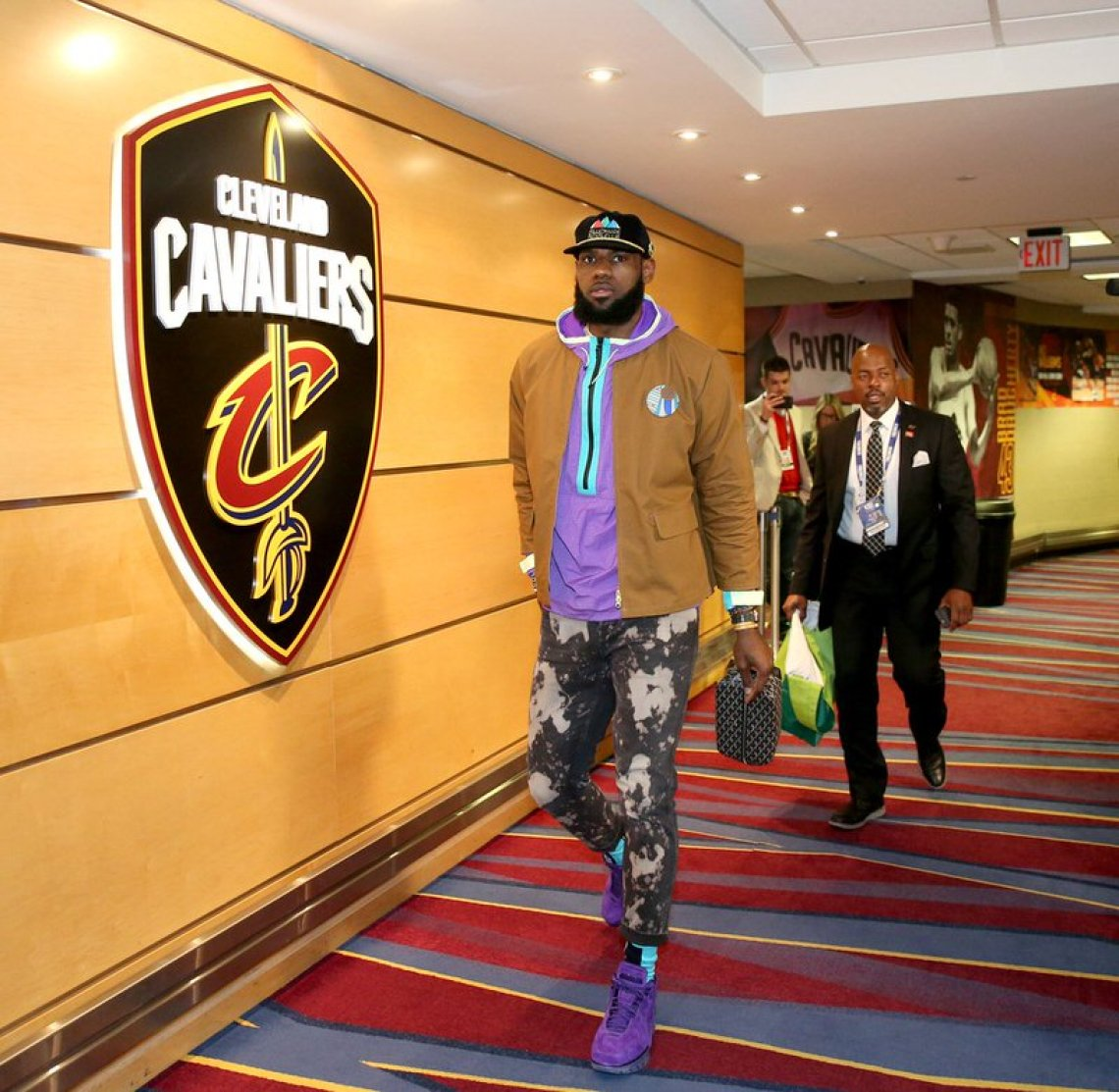 Lebron James in the Nike Air Zoom Generation