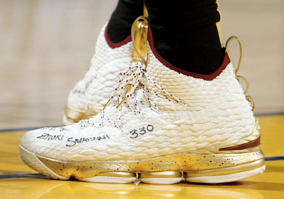 2bcca438c1aa3 Every Nike Sneaker Worn By LeBron James In The NBA Finals