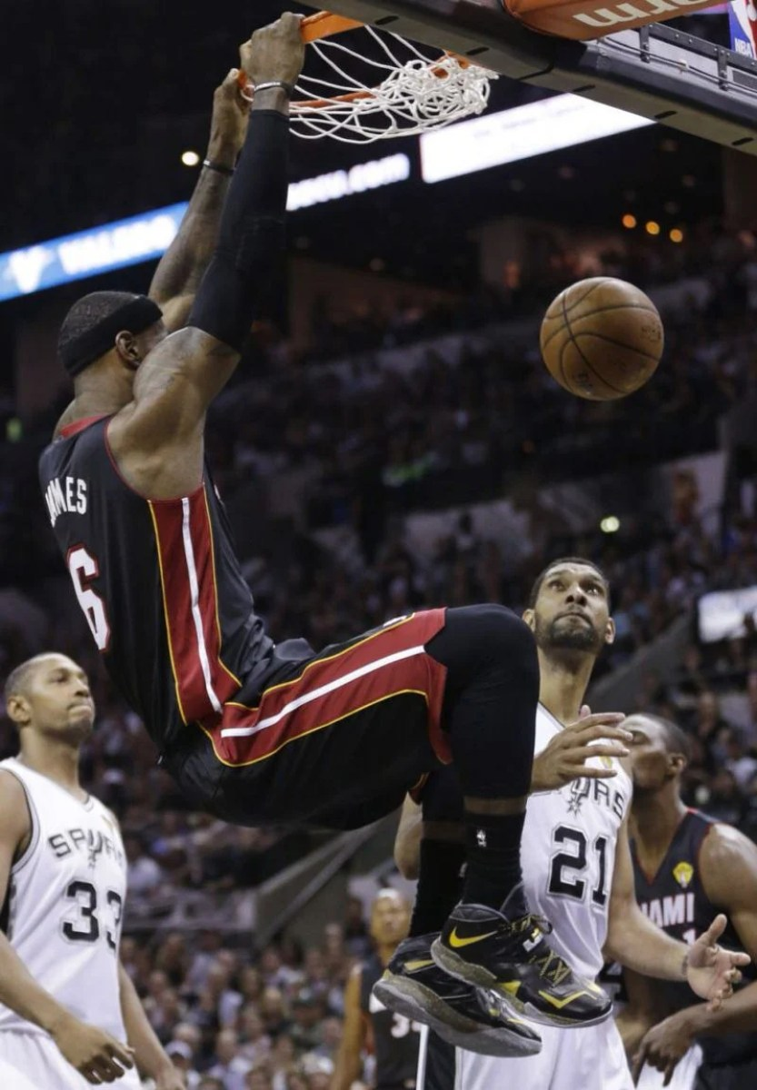 e6a83c7e7d5 Every Nike Sneaker Worn By LeBron James In The NBA Finals