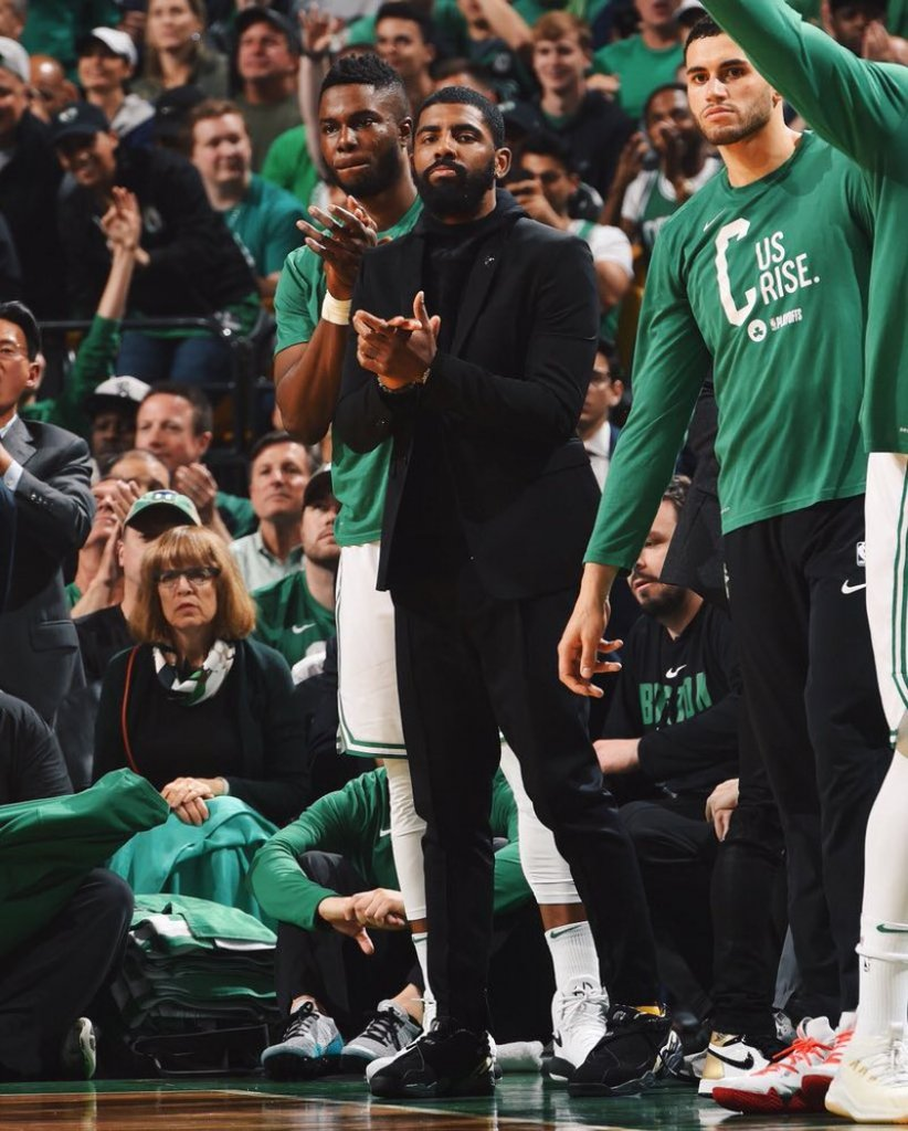 Kyrie Irving in the Air Jordan 8 Low