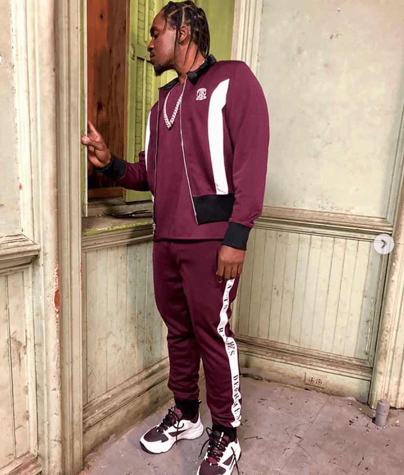 Pusha T in the Dior Sneakers
