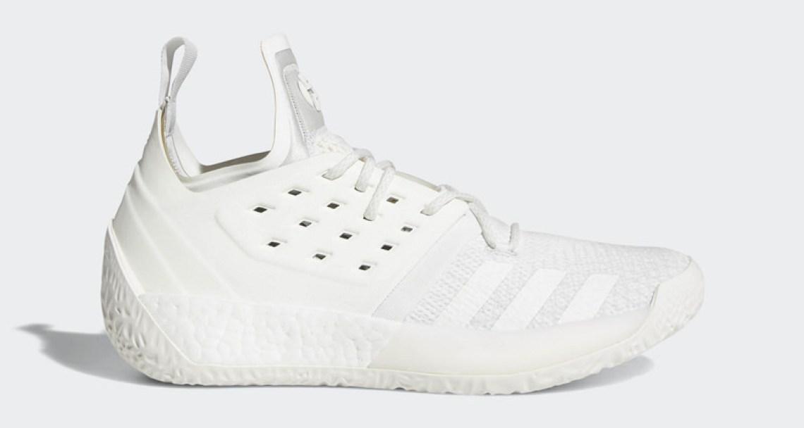 5063e2d1feb adidas Harden Vol. 2 Grey White Release Date