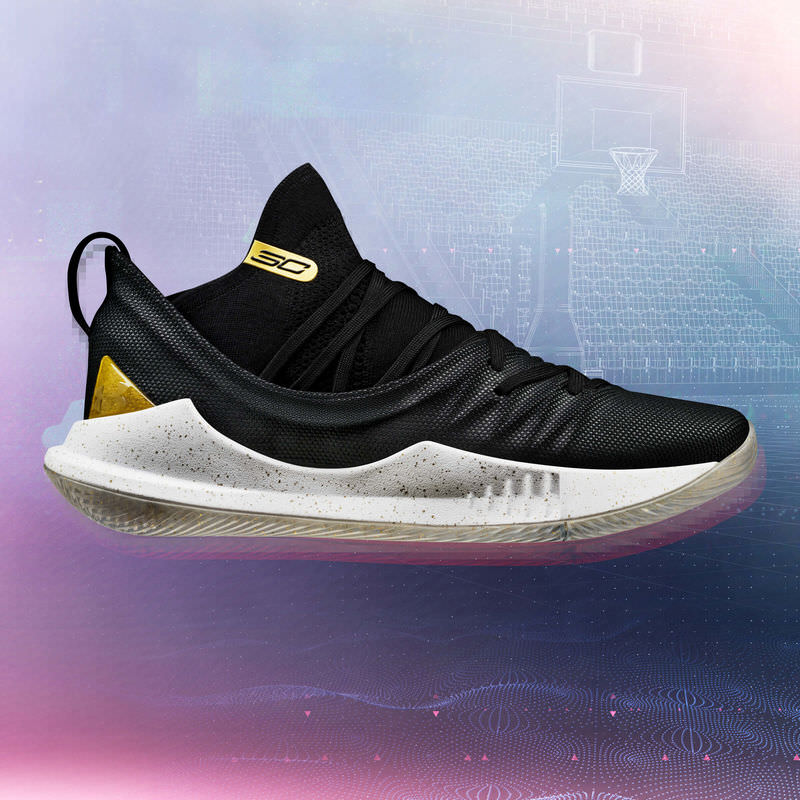 1f718d6ce168 Steph Curry Will Debut New Under Armour Curry 5 Colorways In NBA ...