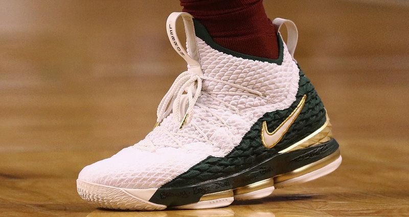 "cde3dddcb1a7 a closer look at the nike lebron 15 ""svsm azg"" pe"