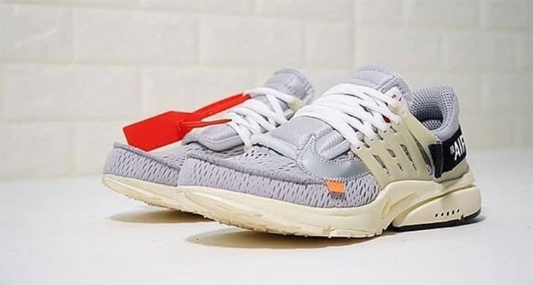 "OFF WHITE x Nike Air Presto ""Grey"""