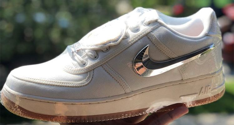 "Travis Scott x Nike Air Force 1 Low ""Sail"""
