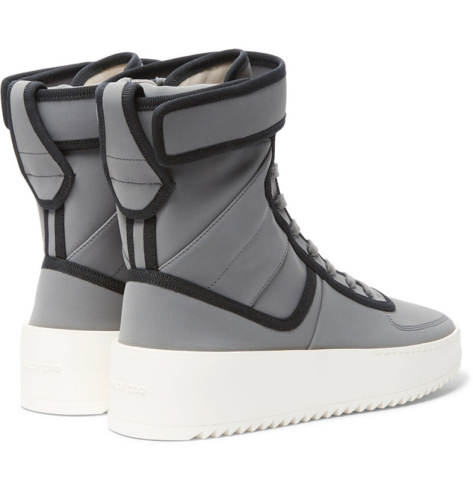 Fear of God Military Nylon High-Top Sneakers