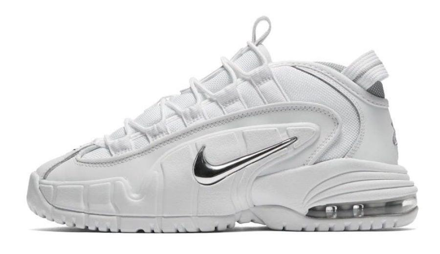 965e9f91947 Nike Air Max Penny 1 White Metallic Silver    Release Date