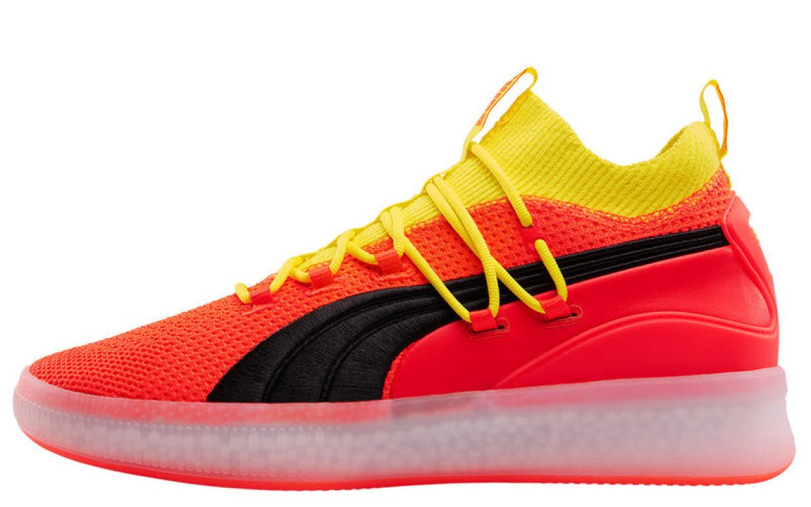 f3041ae1eb Take a look at the shoe below courtesy of our friends over at Hypebeast.  Puma Clyde Court HW
