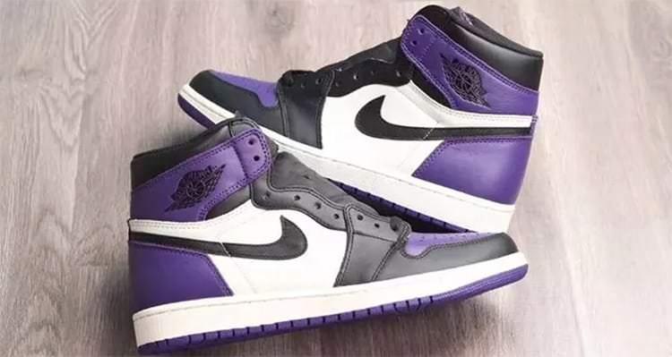 "Air Jordan 1 ""Court Purple"""
