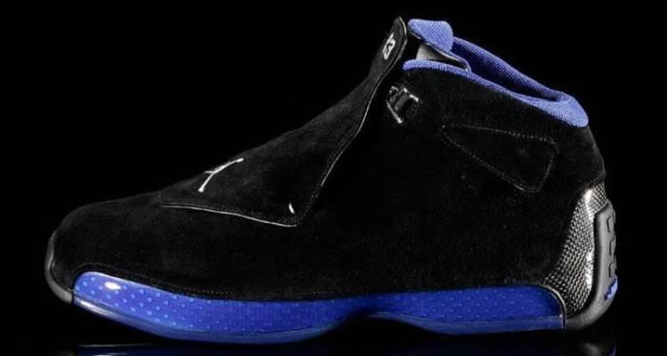 Air Jordan 18 Black/Sport Royal