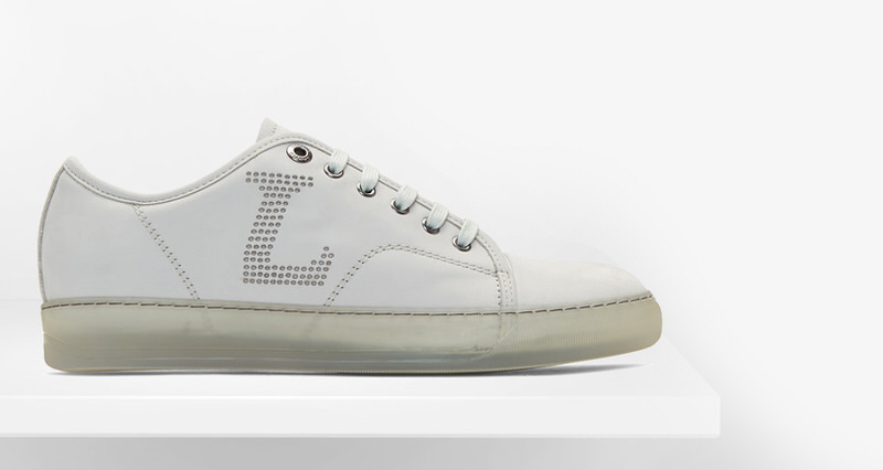 Lanvin Perforated Sneakers // Available Now | Nice Kicks