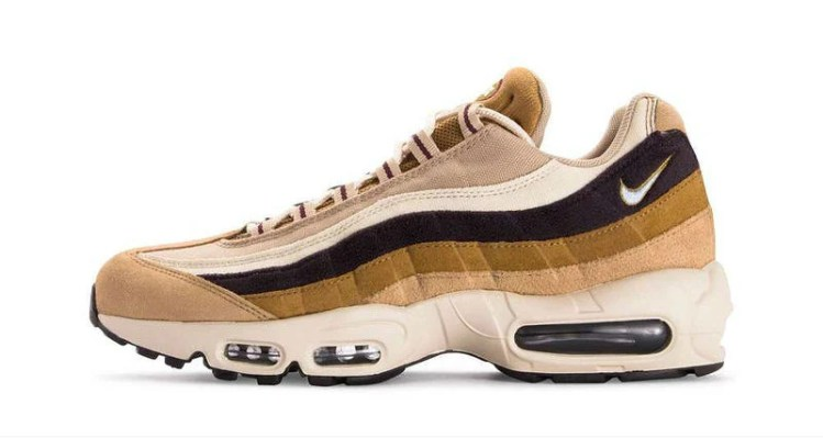 """info for 11494 6cce3 Nike Air Max 95 Premium """"Desert""""    Available Now"""