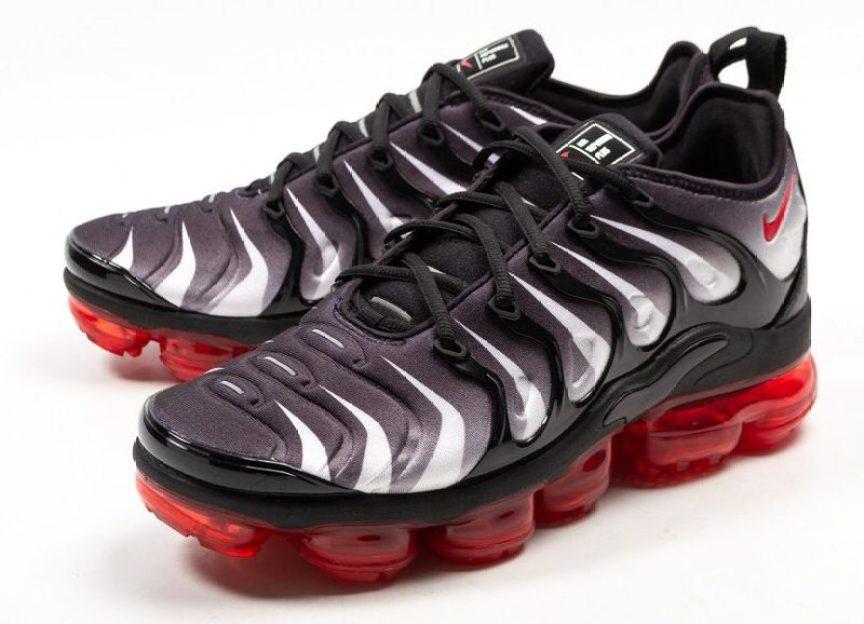 "e7cd95d0da3 Nike Air VaporMax Plus ""Red Shark Tooth"