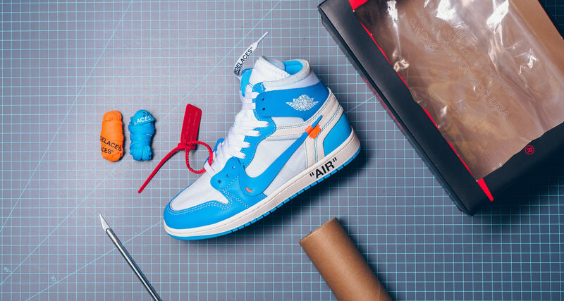 "2a7d465ff04156 Another Shot to Cop the OFF WHITE x Air Jordan 1 ""UNC"" Comes Next Week"