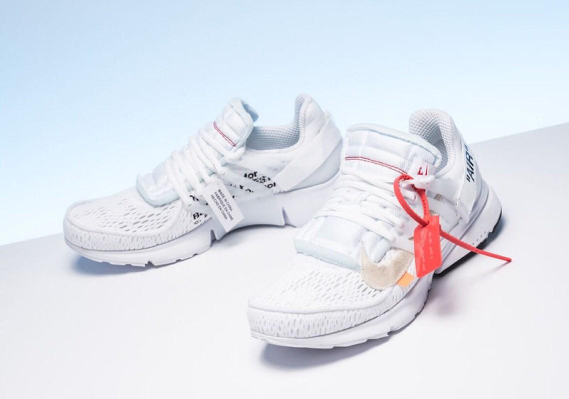 """OFF WHITE x Nike Presto """"White"""""""