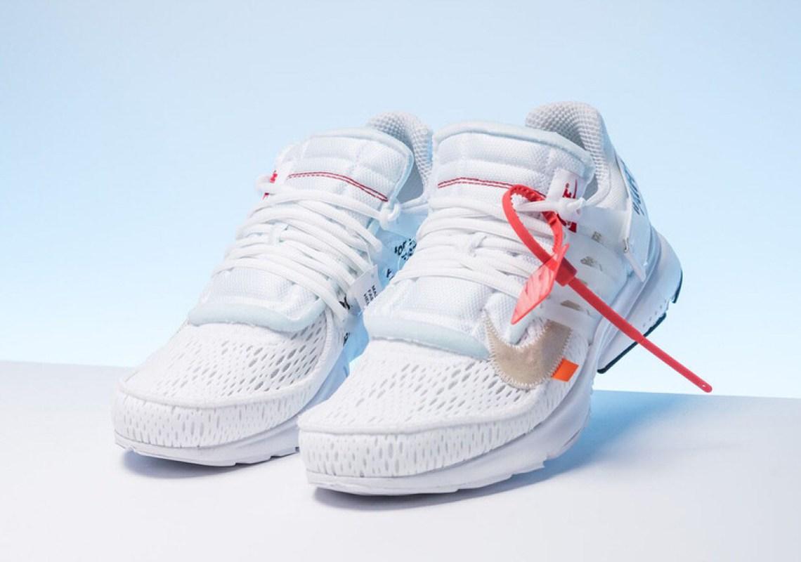 Style   AA3830-100. OFF WHITE x Nike Presto
