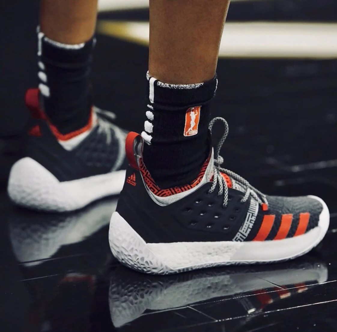 """check out f37b6 c51c0 Moriah Jefferson in the adidas Harden Vol. 2 """"Pioneer"""""""