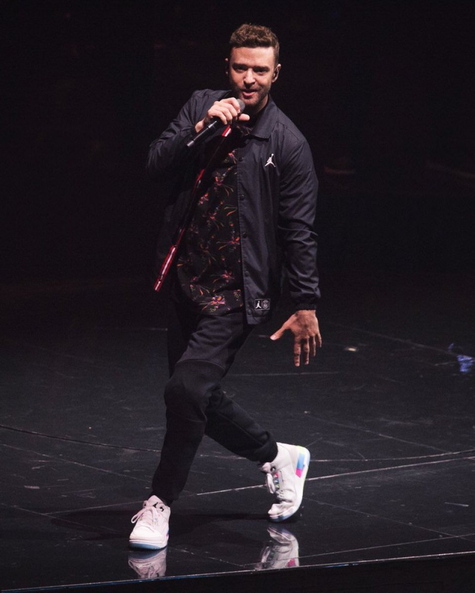"Justin Timberlake in the Air Jordan 3 Retro ""Quai 54"" F&F"