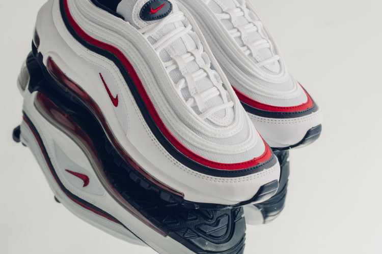 """9249bed2aeb Nike Air Max 97 """"Red Crush""""    Available Now"""