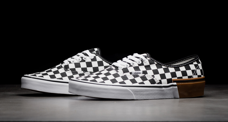 Vans authentic checkerboard available now