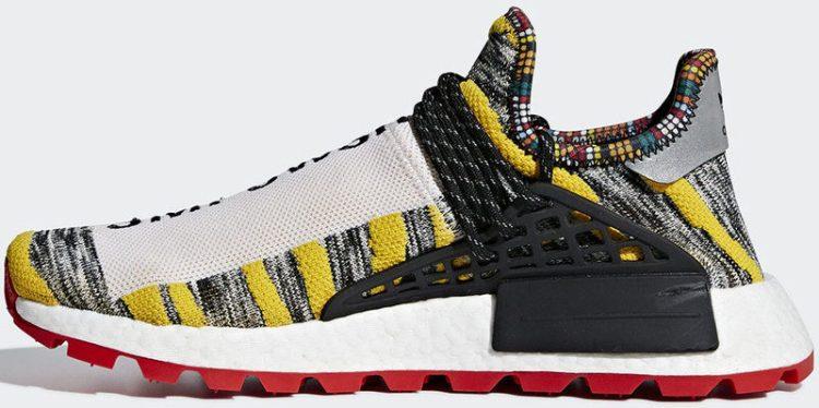 "Pharrell x adidas NMD Hu ""Solar Pack"""