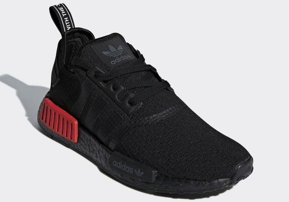 f23f4c18dc adidas NMD R1 Black Red September 2018