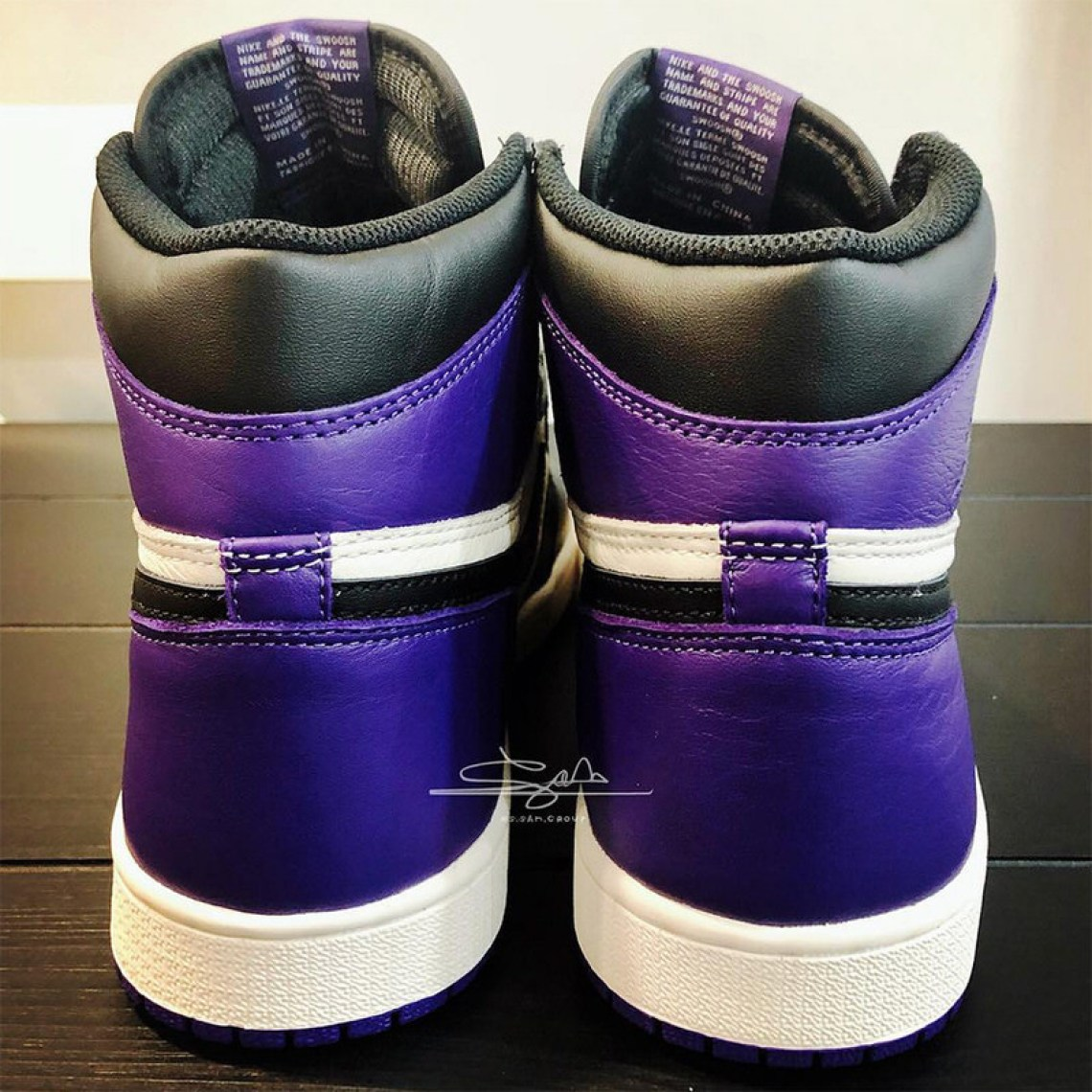 "64575474aa62b6 The Air Jordan 1 Retro High OG ""Court Purple"" is rumored to drop in  September. Stay tuned for the official release details."