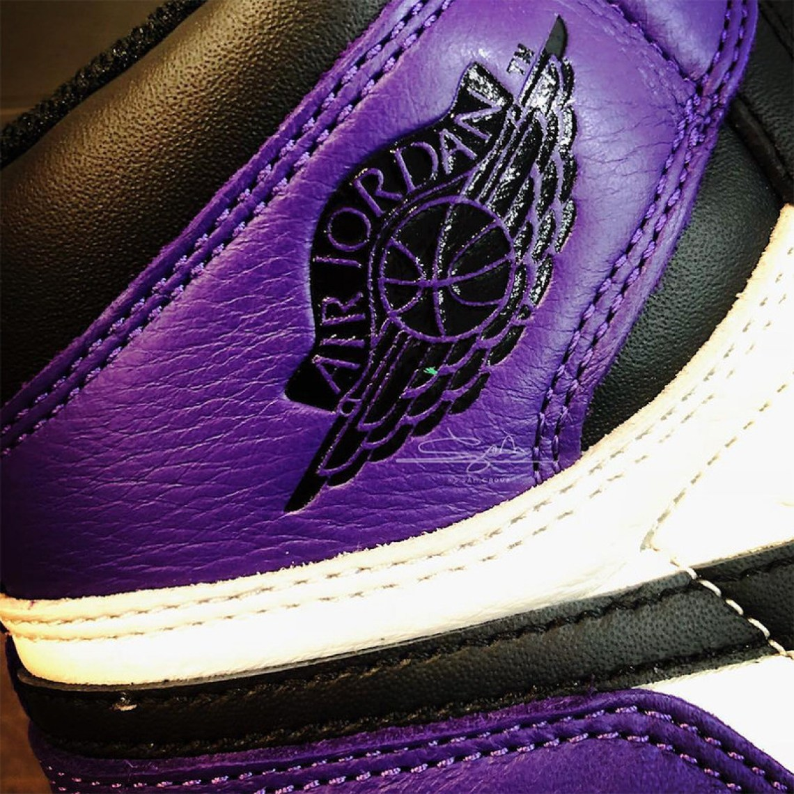 "a5c7bcd050deed Air Jordan 1 Retro High OG ""Court Purple""    Another Look"