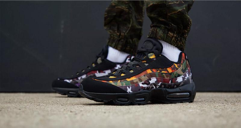 Nike s Air Max 95 Adorns Multicolored Camo c486815b2