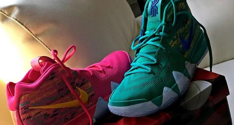 "Nike Kyrie 4 ""NBA 2K18"""
