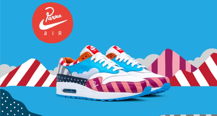 Parra x Nike Air Max 1 F&F