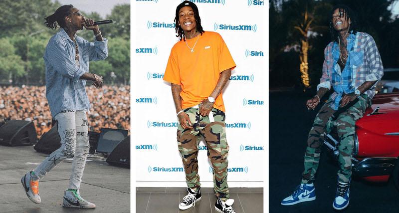 3d8bede6c67574 What s In Their Wardrobe     Wiz Khalifa