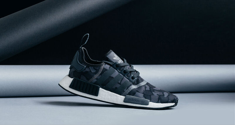 "quality design 9c9ba 510ca adidas NMD R1 ""Black Duck Camo""  Available Now"