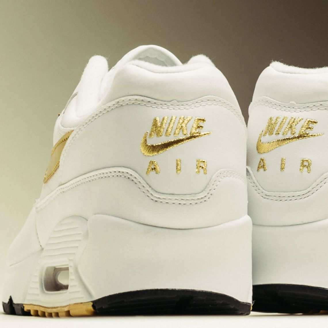 """innovative design 27242 1d26a Releasing on Sept. 1, look for the Nike AM 90 1 """"White Metallic Gold"""" to  retail  140 and be available select retailers like Feature."""