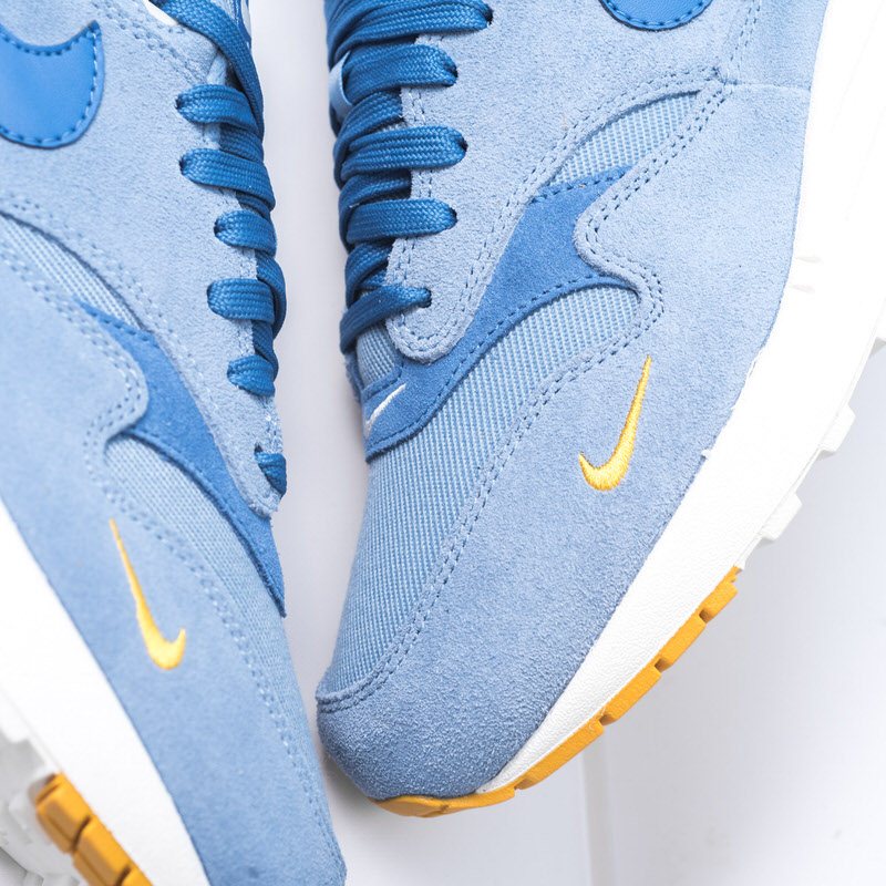 df2278f9bb ... denmark the nike air max 1 premium work blue is available now at  sneaker politics.