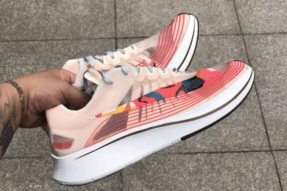 "Nike Zoom Fly SP ""Camo Swoosh"""