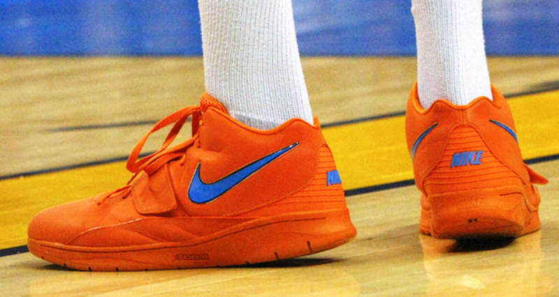 "best sneakers 40c71 e08fe Kevin Durant is Pulling for a ""Creamsicle"" KD2 Retro"