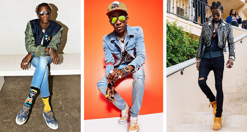 outstanding young thug fashion style 10