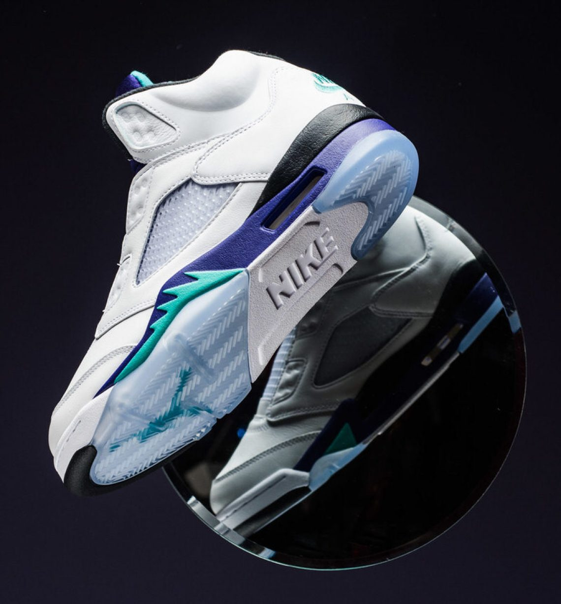 brand new c796d 1760a Nonetheless, the Air Jordan 5 in its original grape colorway remains as one  of the most iconic models and colorways in Air Jordan sneaker history, ...